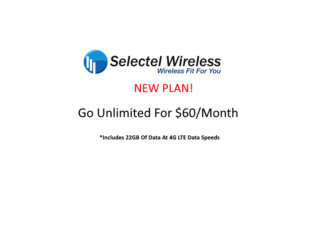 Selectel Wireless's New Plan Includes 22GB Of 4G LTE Data