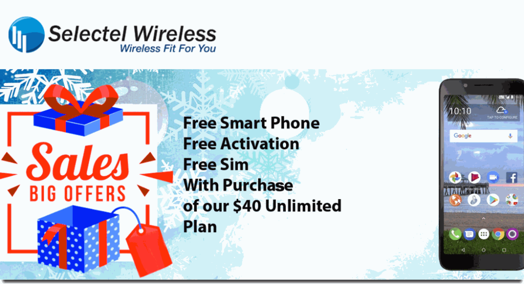 Selectel Wireless Offering Free SIM, Activation And Phone With Purchase Of $40 Unlimited Plan