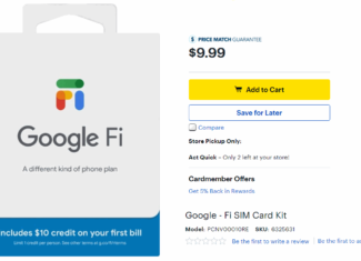 Google Fi SIM Cards Are Now Available At Best Buy