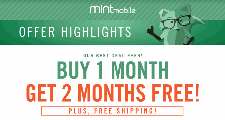 Mint Mobile Offering 3 Months With 8GB Of Data For Just $20