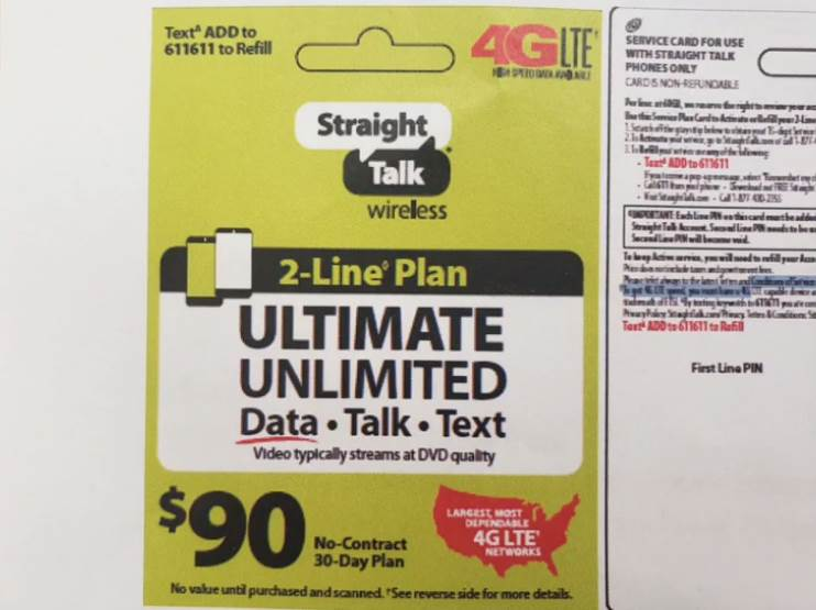 New Multi-Line Plan Coming To Straight Talk Wireless (Photo via Mil Hustles)