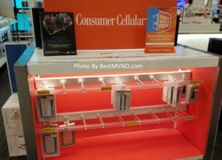 Consumer Cellular Is Taking Over Sprint Displays At Target