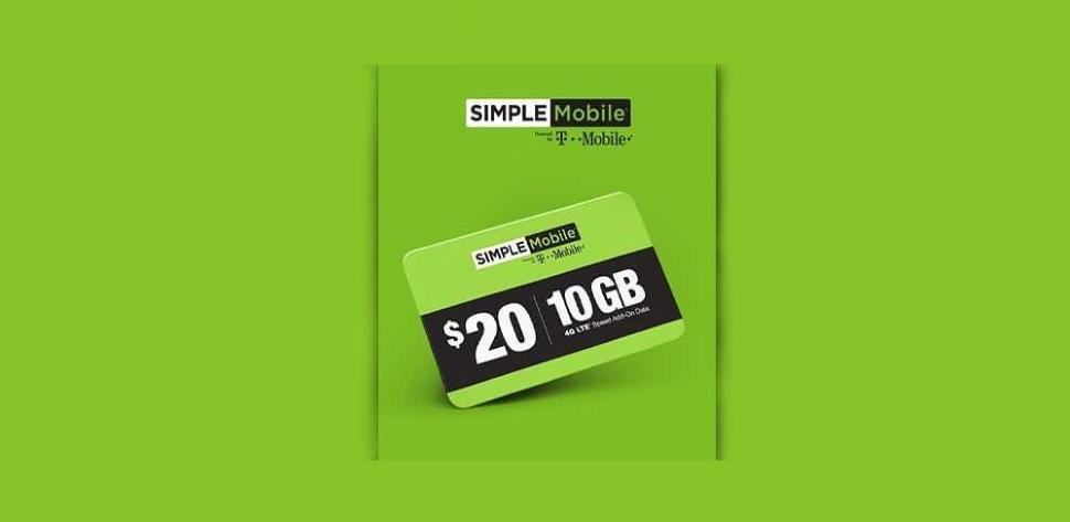Simple Mobile Has A New Data Add-On Card Option