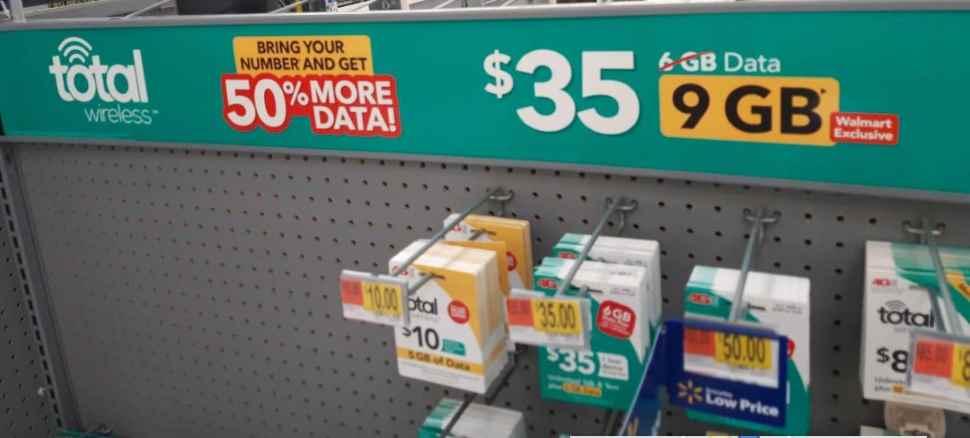 Total Wireless 3GB Bonus Data Offer At Walmart Photo Credit Mil Hustles