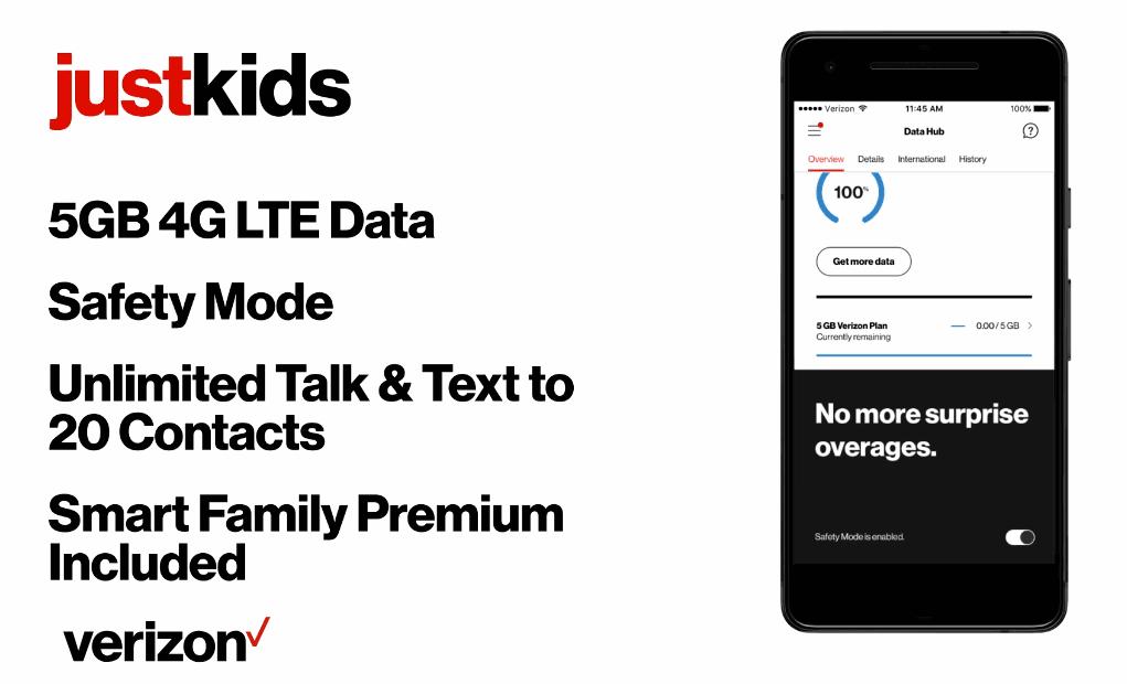 Verizon Wireless Announces Just Kids Phone Plan
