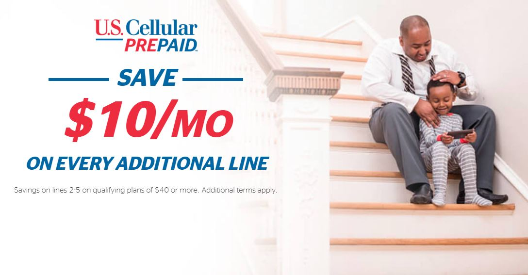 US Cellular Now Offering Multi-Line Discounts For Select Prepaid Plans