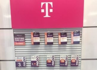 Ultra Mobile's Tourist Plan Now Sold In Stores (Photo Credit Wave7 Research)