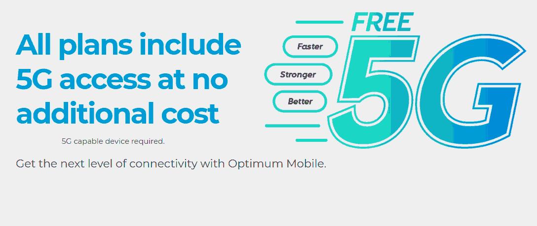 Optimum Mobile 5G