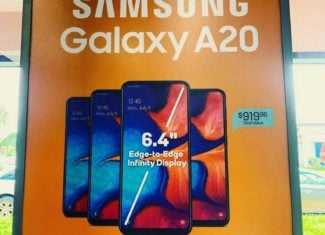 Boost Mobile Dealers Like One Shown In Belle Glade Are Offering Up To 4 Free Samsung Galaxy A20's To Switchers