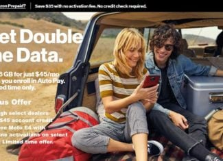 Select Verizon Prepaid Dealers Offering Account Credits And Free Moto E4