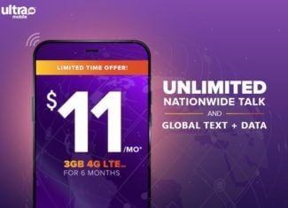 Ultra Mobile Now Offering Buy Three Months Get Three Months Free Promo
