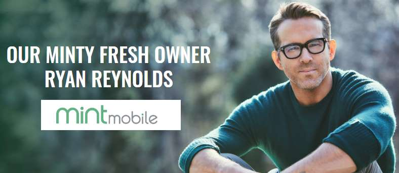 Ryan Reynolds Now Has An Ownership Stake In Mint Mobile