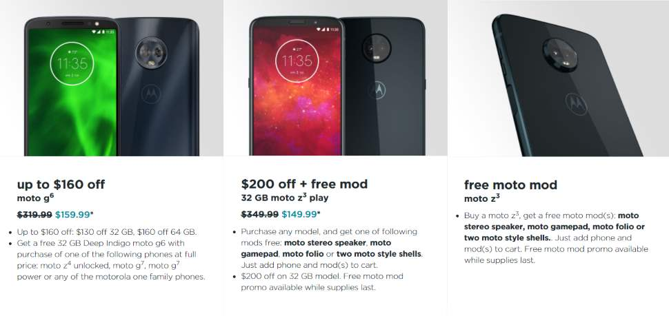 Select Motorola Phones Are Now Available At A Huge Discount