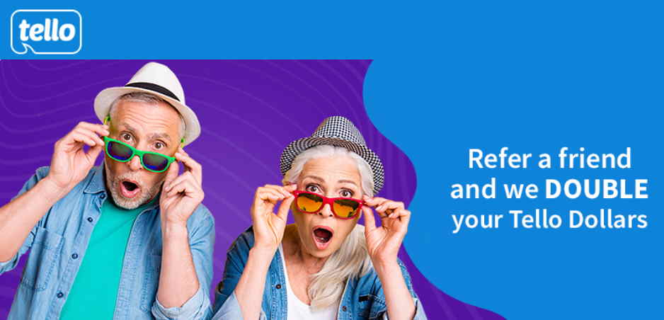 Tello Mobile Offering Double Referral Credits To Current Customers
