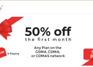 Red Pocket Mobile Offering 50% Off Any Plan