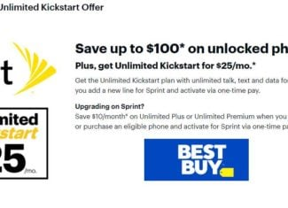 Best Buy Has Sprint's Unlimited Kickstart Plan For $25/Month