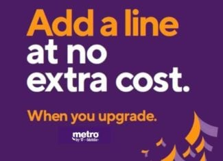 Metro By T-Mobile Free Second Line With Phone Upgrade