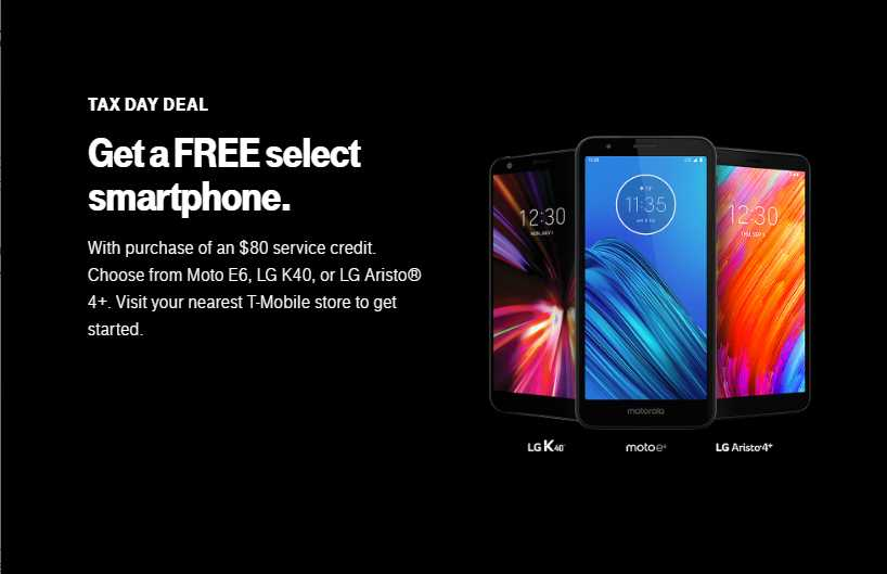 T-Mobile Prepaid's Tax Season Deals Are An Extension Of Previous Offers