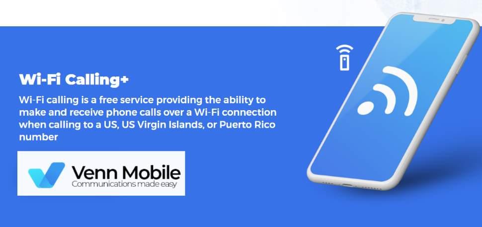 Venn Mobile Plan Includes WiFi Calling