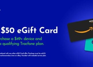 Tracfone Has New $50 Amazon And eBay eGift Card Offers