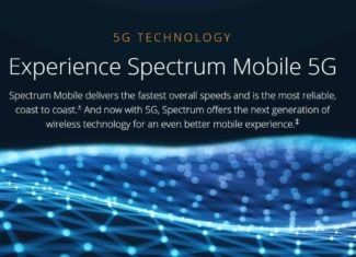 Spectrum Mobile Now Promoting 5G Network Access