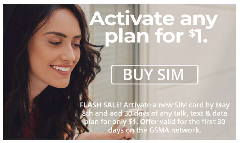 Activate Any Red Pocket Mobile Plan For $1