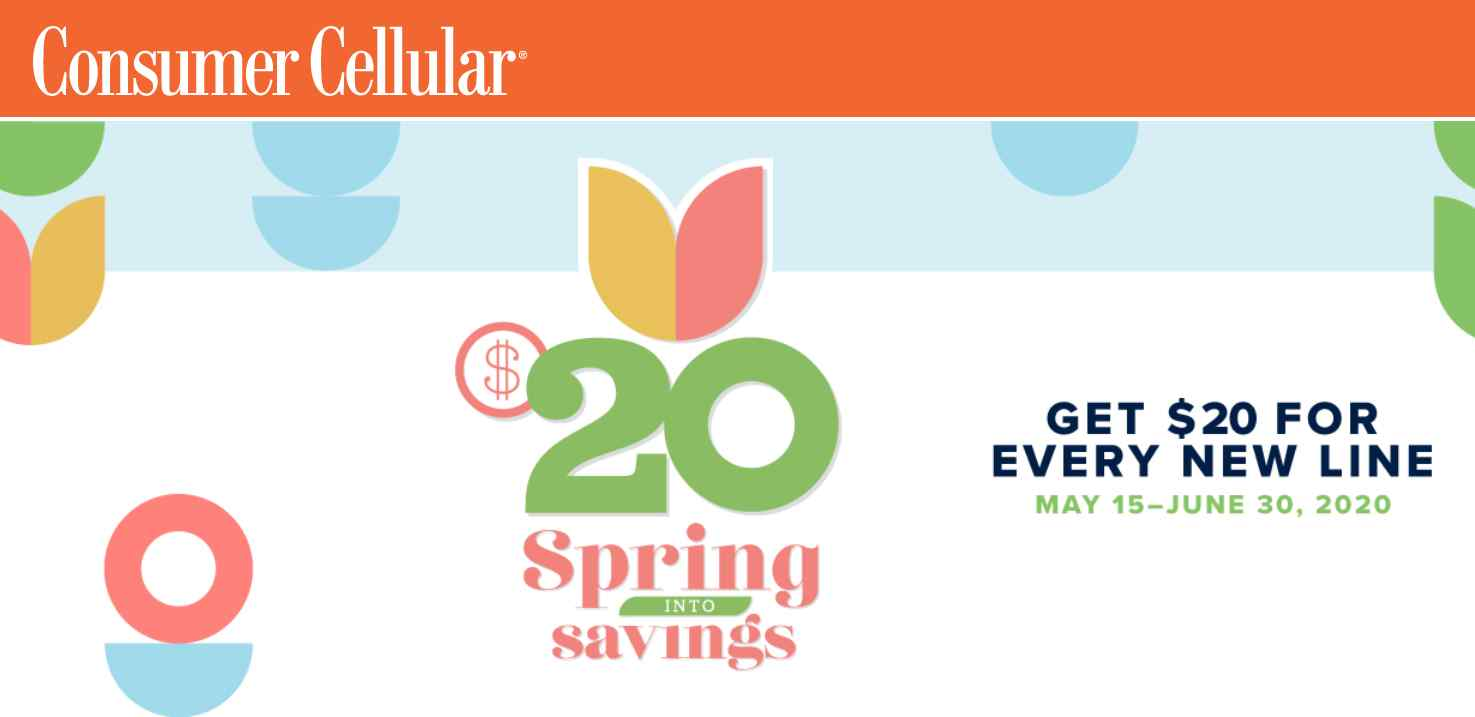 Spring Into Savings With Consumer Cellular's Latest Promo