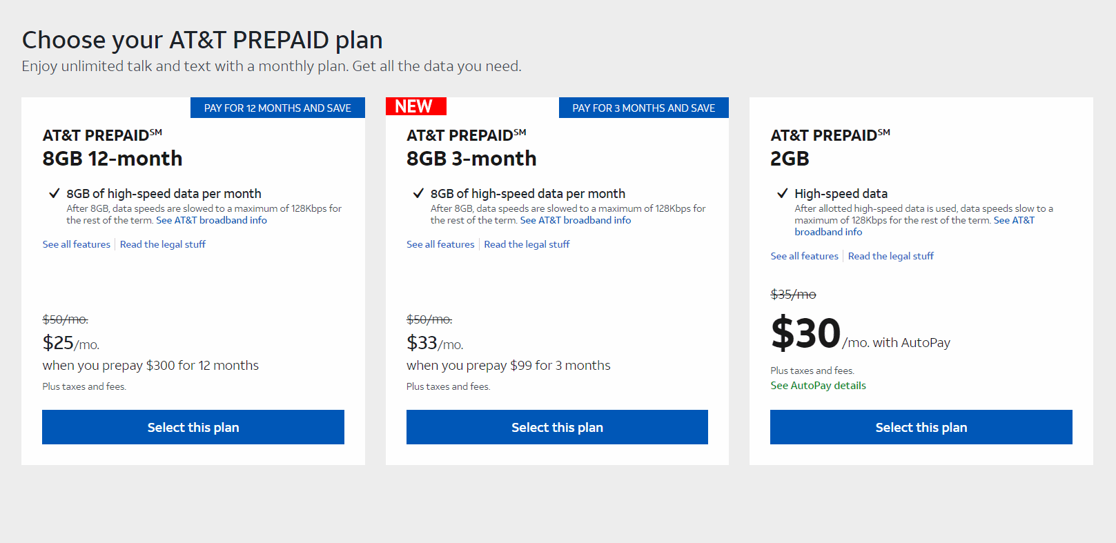 AT&T Prepaid Has New 3-Month Discount Plan Offer
