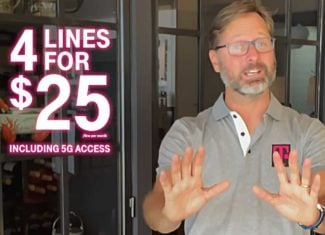 Mike Sievert, President And CEO Of T-Mobile, Unveils New 4 Lines For $100 Offer