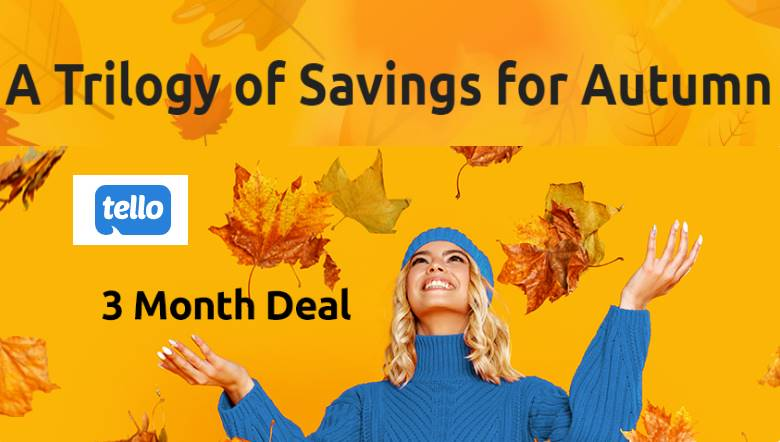 Tello Mobile Has A New Fall Promotion