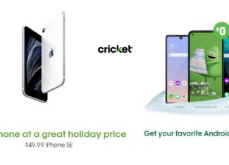 Cricket Wireless Holiday Shopping 2020 Deals