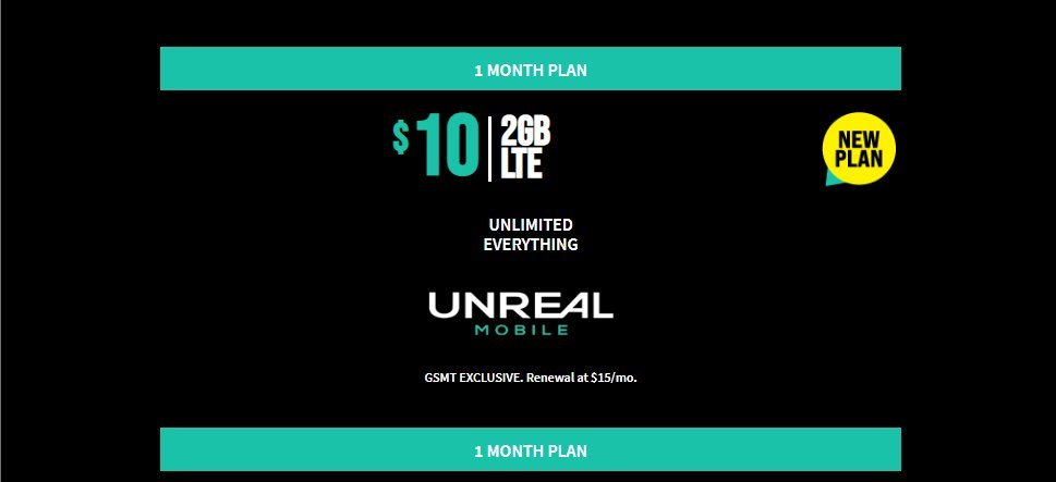 Unreal Mobile Has A New Plan And Network Partner