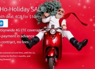 Tello Mobile Ho-Ho-Holiday 2020 Sale
