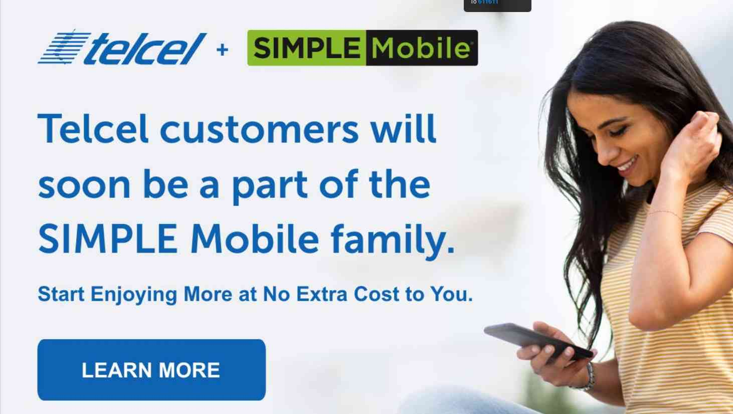 Telcel's Website Proclaims That It Will Fold Into Simple Mobile