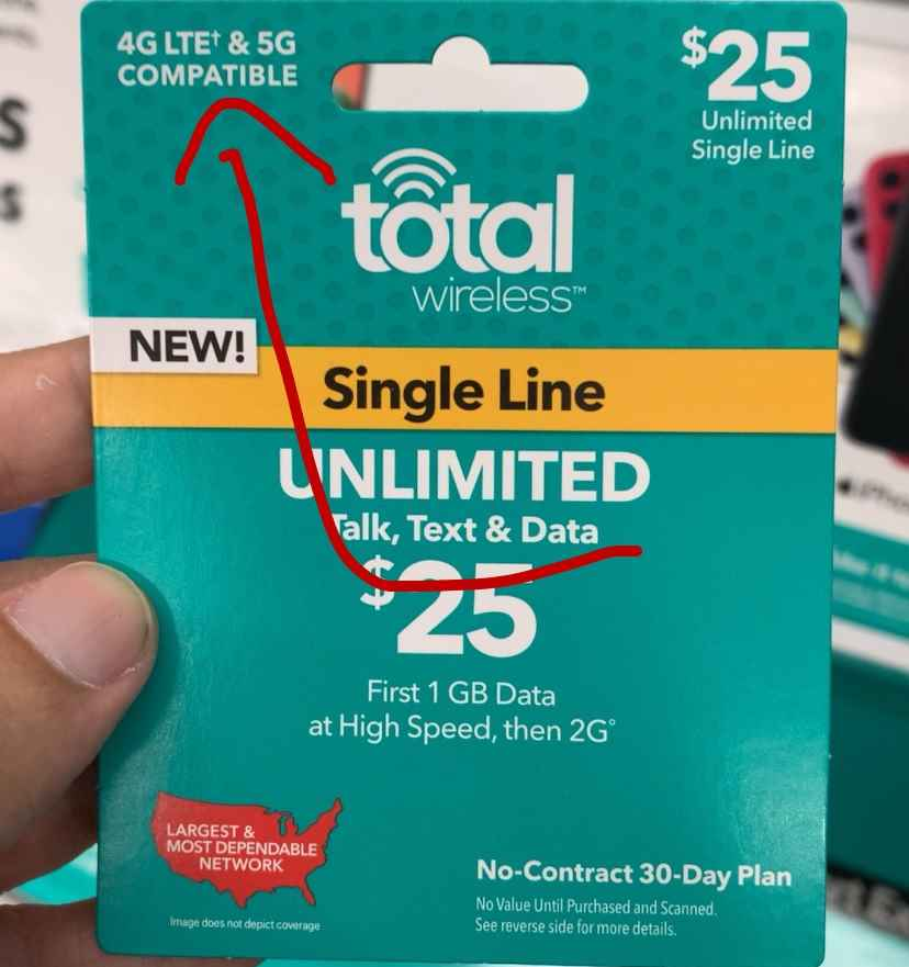Total Wireless 5G Branding First Started To Appear At Some Walmart Stores In Late 2020