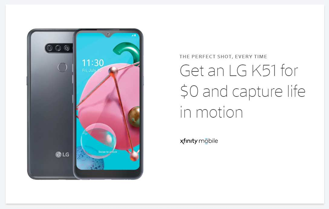 Xfinity Mobile Offering A Couple Of Free Phones To Switchers