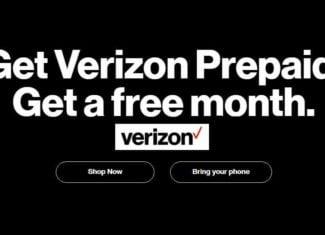 Verizon Prepaid Free Month Offer