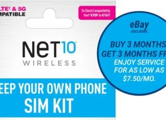 NET10 Wireless Has A New eBay Plan And Promo