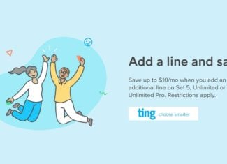 Ting Add A Line Discount Offer