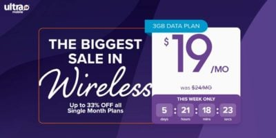 Save Up To 33% Off Your First Month With Ultra Mobile
