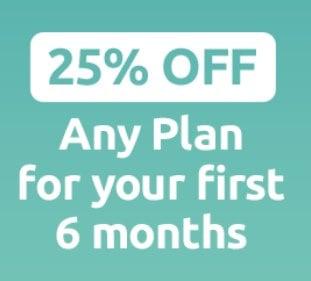 Tello 25 Percent Off 6 Months