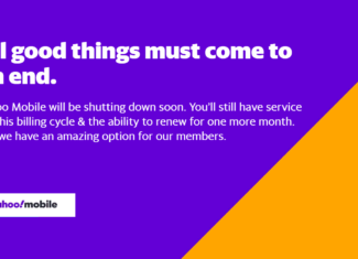 Yahoo Mobile Will End Service By August 31, 2021