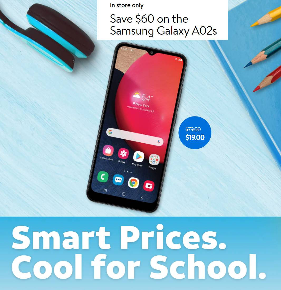 AT&T Prepaid Back To School 2021 Sale