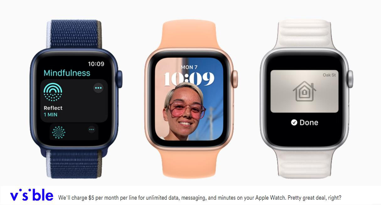 Apple Watch Support Headed To Visible