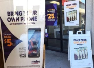Metro by T-Mobile $5 First Month BYOD Unlimited Plan Offer (Photo Via Wave7 Research)