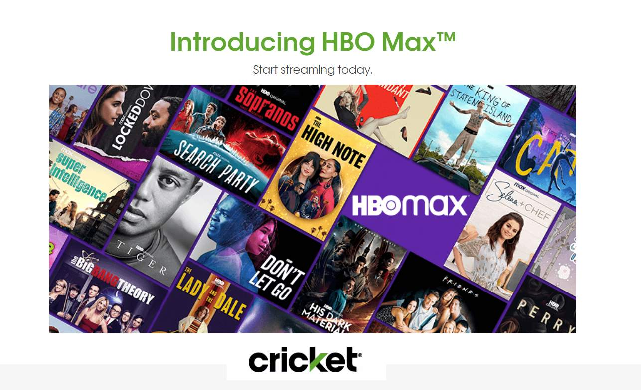 Cricket Wireless's Flagship Unlimited Plan Now Includes Free HBO Max Subscription
